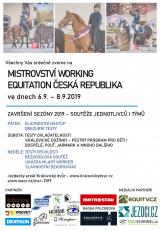 Pozvánka na MČR 2019